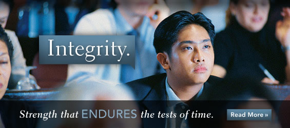 Integrity (Strength that Endures the Test of Time)