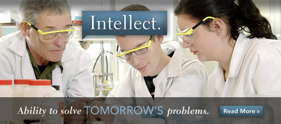 Intellect (Ability to Solve Tomorrows Problems)