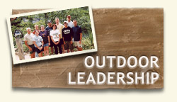outdoor leadership Join the outdoor program in discovering concepts in outdoor leadership this fig is heavily involved in programs, activities, and events of the outdoor program in addition to learning about outdoor leadership and adventure activities this fig will develop academic, transition, and research skills.