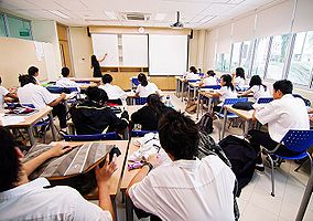 Chinese students in the classroom: The traditional emphasis on rote memorization in education does not produce students ready for the challenges of the 21st century workplace.