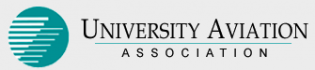 The University Aviation Association's logo: the UAA has been the premier collegiate aviation association since 1947.