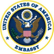 The Crest of the US Embassy: Remember, Visa Applications can be tricky!