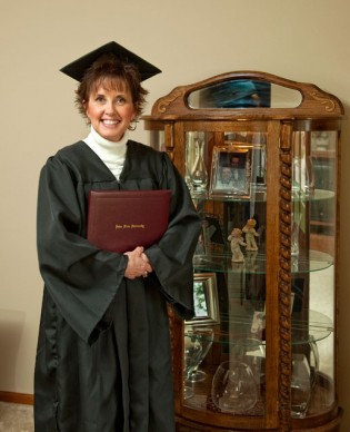 Vitzthum Curio (yes, that is her name) finally graduated after spending 40 semesters in school! It is admirable to see how she has never given up all these years. Read her full story here.