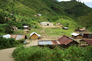 The Lipscomb Missions Camp Campgrounds in Dickson County will resemble the villages in Ulpan Valley in Guatemala (pictures above, picture by Jerry Atnip)