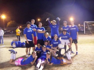 Winning the Co-Ed division of intramural soccer was one of the highlights of my freshman year at HSU. I have remained close friends with many of my teammates since then.