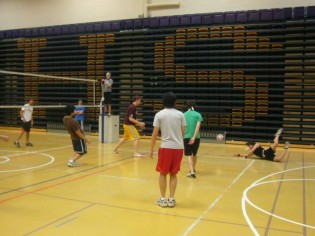 I also tried playing volleyball for the first time when I got to university. College is a time to try new things!